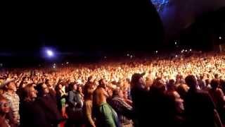Miranda Lambert performing Over You live @ the Shoreline Amphitheatre on May 11, 2013