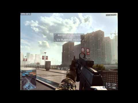 Battlefield 4: Beta AK-12 [Reload And Firing Animation]