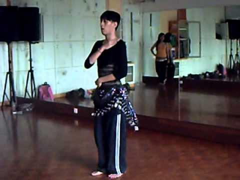 'Beats Antique' Indonesian Bellydancer-TRAINING PART 3