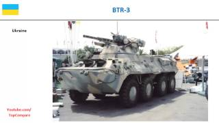 BTR-3 compared to BTR-80, Infantry Carrier Vehicle full specs