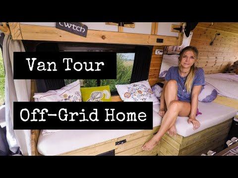 Sprinter Van Tour - (COMPLETE OFF-GRID) Home On Wheels!