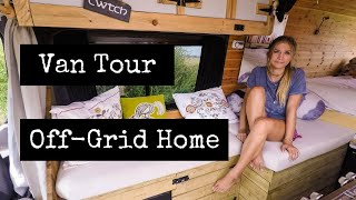 Sprinter Van Tour - (COMPLETE OFF-GRID) Home On Wheels!