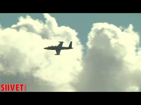 Fouga Magister Jet Trainer Full Air Show Sunday - Jämi Fly In & Airshow 2016