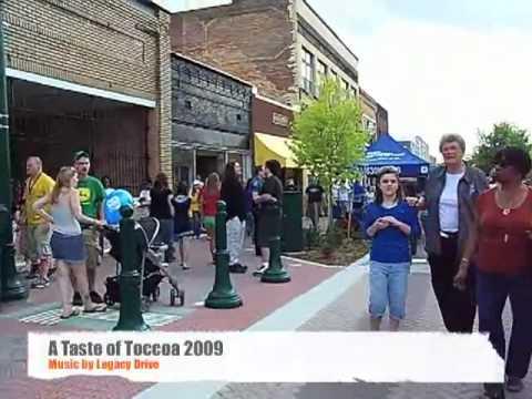 Walk through A Taste of Toccoa in Toccoa, GA