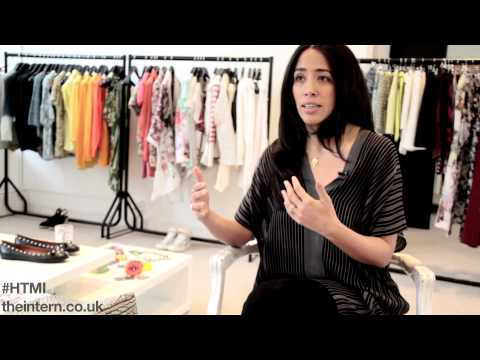 HOW TO MAKE IT - Fashion Buyer (Top 5 Tips - Carmen Borgonovo, my-wardrobe.com)