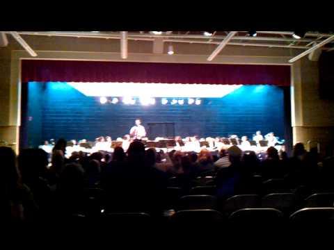 West Bendle Middle School Concert 1-17-2012   Part 3