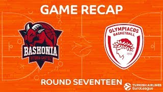 Highlights: Baskonia Vitoria Gasteiz - Olympiacos Piraeus