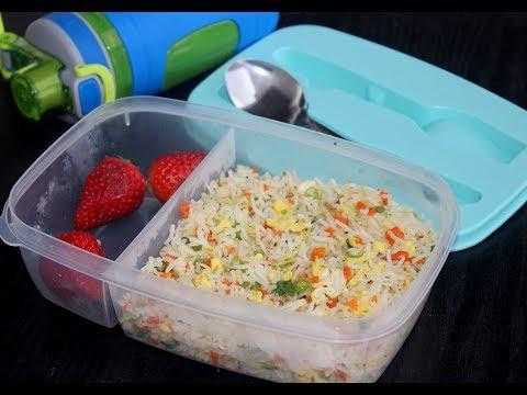 10 മിനിറ്റിൽ കുട്ടികൾക്ക് Lunch തയ്യാറാക്കാം ||Easy Fried Rice For Kids||Anu's Kitchen