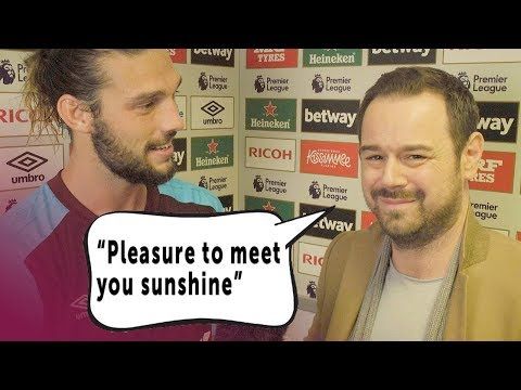 DANNY DYER MEETS ANDY CARROLL! 😂