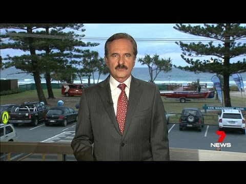 7 Gold Coast News live from Mermaid Beach