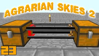 Minecraft Mods Agrarian Skies 2 - REFINED RELOCATION !!! [E23] (Modded Skyblock)