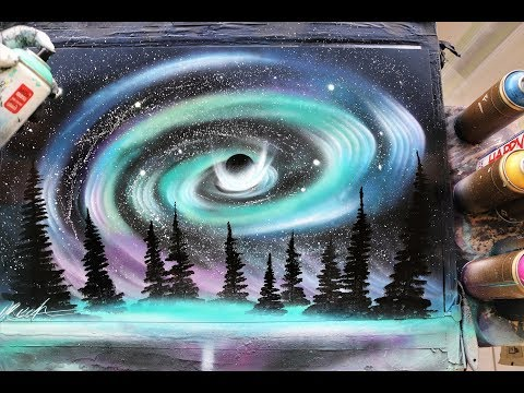 North light storm - SPRAY PAINT ART - by Skech