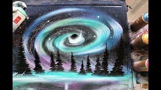 North light storm - SPRAY PAINT ART - by Skech