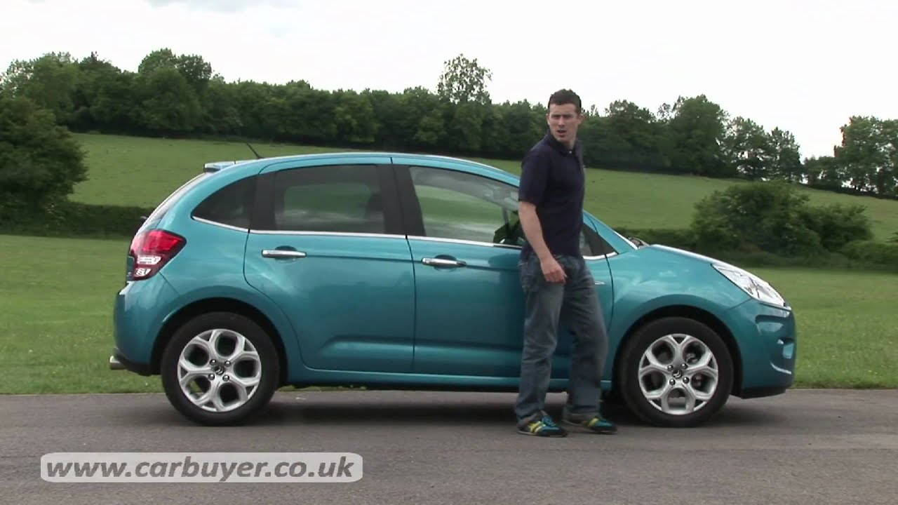 citroen c3 hatchback review carbuyer youtube. Black Bedroom Furniture Sets. Home Design Ideas