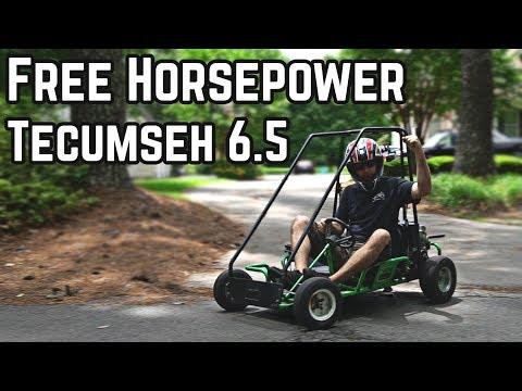 5 Free Mods to Increase Go Kart Horsepower! Pt  2 - YouTube
