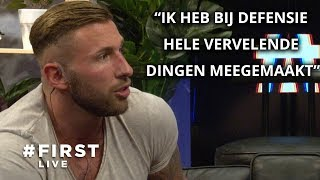 LEXXXUS & ALEX (EX ON THE BEACH) over SEKSUEEL MISBRUIK en ONTGROENINGEN in het LEGER #FIRST LIVE