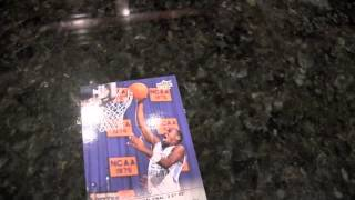 Box Busters 2014-15 UD NCAA March Madness Collection basketball cards