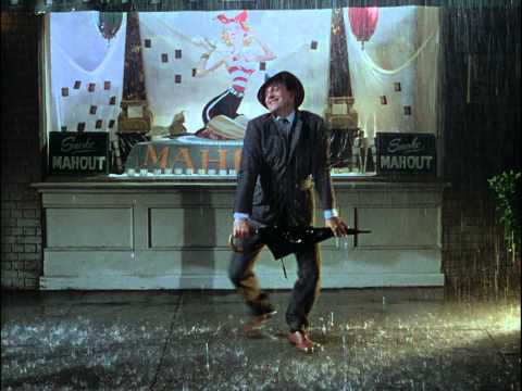 HD 1080p Singin in the Rain Title Song 1952  Gene Kelly