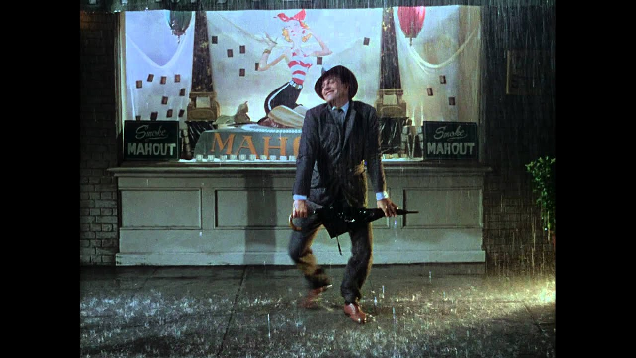 Hd 1080p Singin In The Rain Title Song 1952 Gene Kelly Youtube