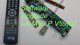 Software Upgrade LA.MV9.P V59XU-ZI