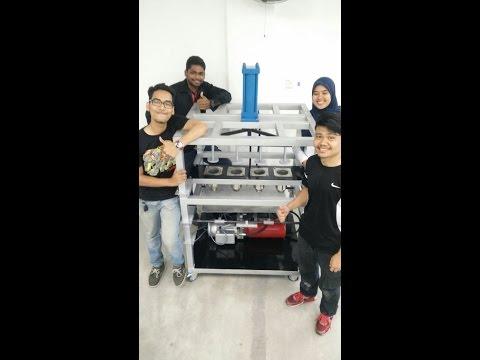 hydraulic murukku machine _Student Final Year Project, Malaysia Polytechnic