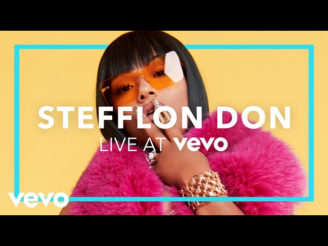 Stefflon Don - Real Ting (Live At Vevo)