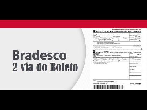 2 Via Boleto Bradesco Atualizar Boleto Em 2 Passos Youtube