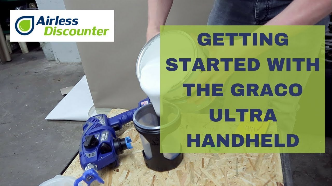 All you need to know about the Graco Ultra handheld airless sprayers