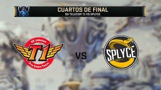 Gambar cover SK TELECOM VS SPLYCE | WORLDS 2019 | CUARTOS DE FINAL - MAPA 1 | League of Legends