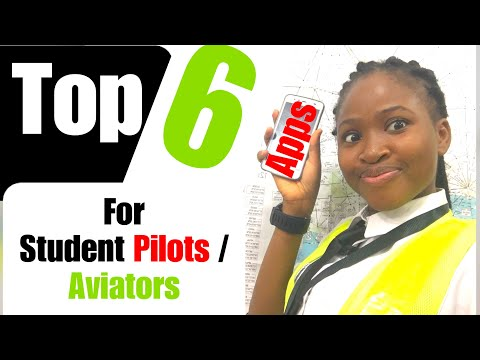 Top 6 Apps For STUDENT PILOTS/AVIATORS | How To Use Apps | PrincessAnuTv