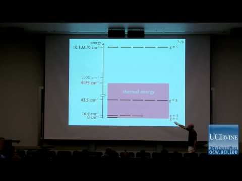 Thermodynamics and Chemical Dynamics 131C. Lecture 03. Energy and q (The Partition Function).