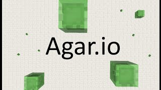 Agar.io in Minecraft