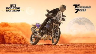 New Yamaha Ténéré 700. The next horizon is yours.