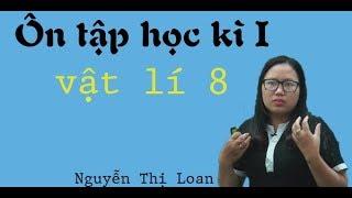 Ôn tập học kỳ I – Vật lý 8 – Cô Nguyễn Thị Loan