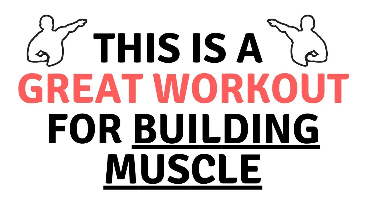 This is a GREAT Workout for Building Muscle [The Daily Strength ...