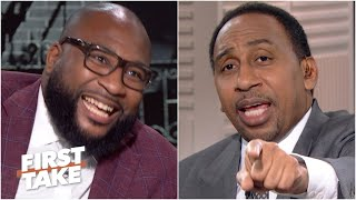 'Security! Get him off the show!' - Stephen A. wants Marcus Spears gone for Cowboys take| First Take
