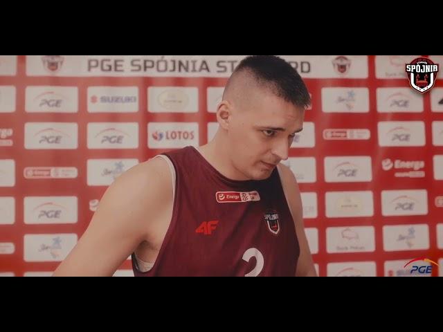 Piotr Niedźwiedzki przed meczem z Treflem Sopot