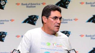 Would Panthers consider signing veteran quarterback?