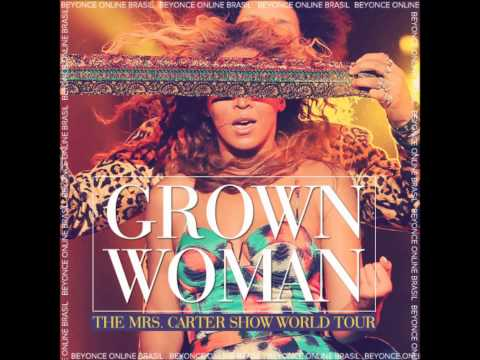 Beyonce Grown Woman Live at Bercy Paris (Perfect Audio)