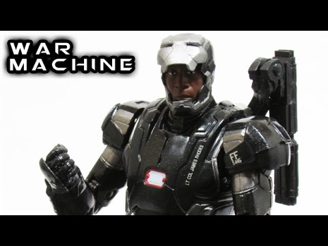 Marvel Legends WAR MACHINE Figure Review
