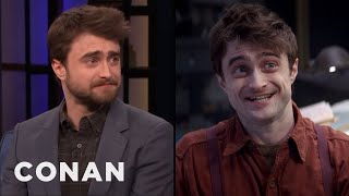 "Daniel Radcliffe: ""Miracle Workers"" Is Funny, Dark, & Sweet - CONAN on TBS"