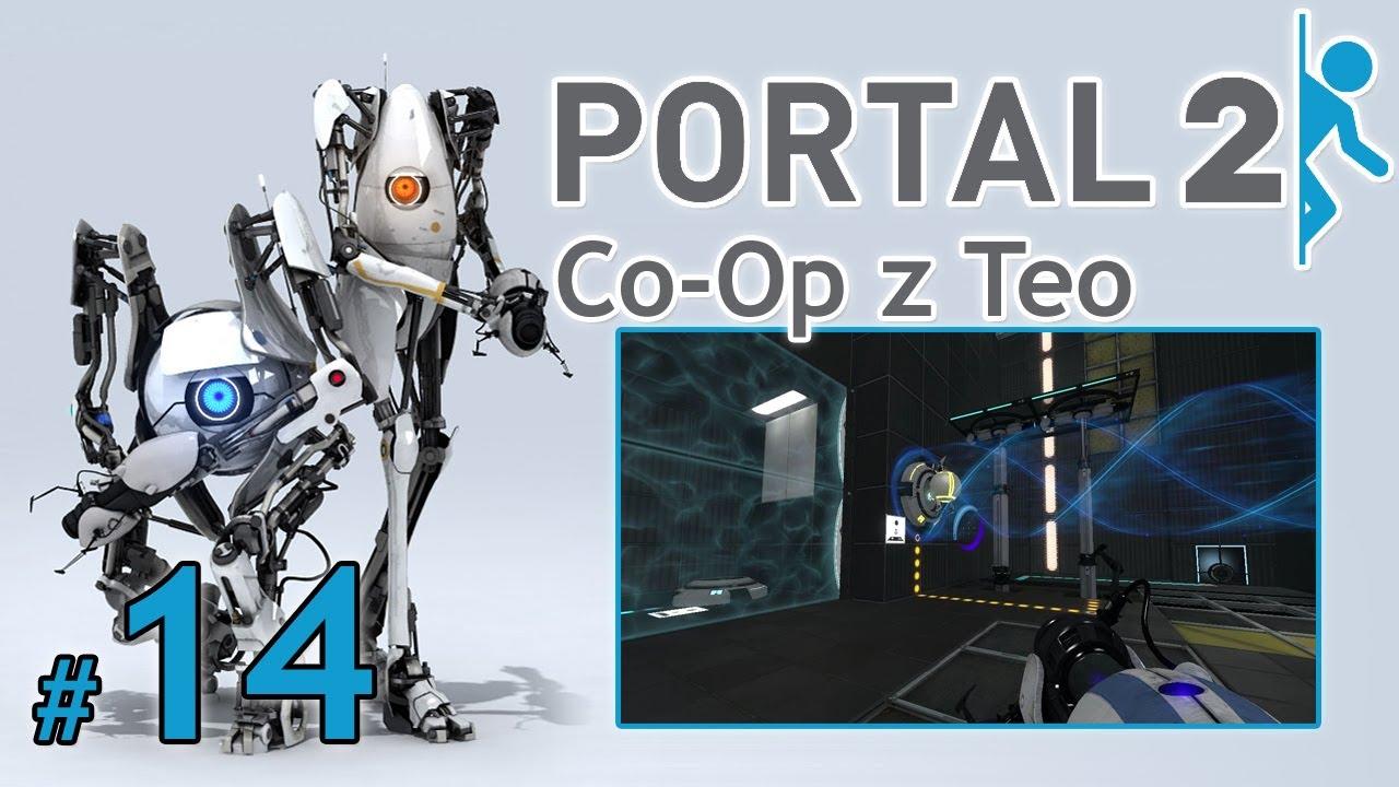 """Let's Play: Portal 2 Co-Op z Teo odc. 14 – Bonus [3/4] – """"Spuszczanie kulek i windy"""""""
