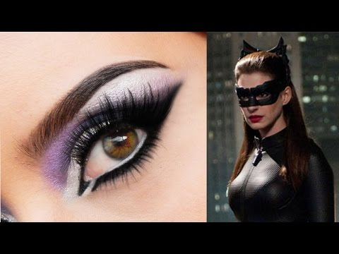 Catwoman Anne Hathaway Inspired Makeup Tutorial
