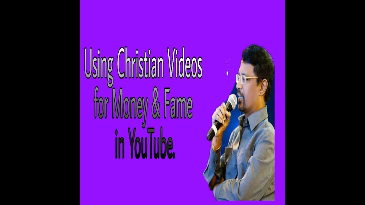 Doing Ministries & YouTube Videos for Money & Fame - Bro. Vincent Selvakumar