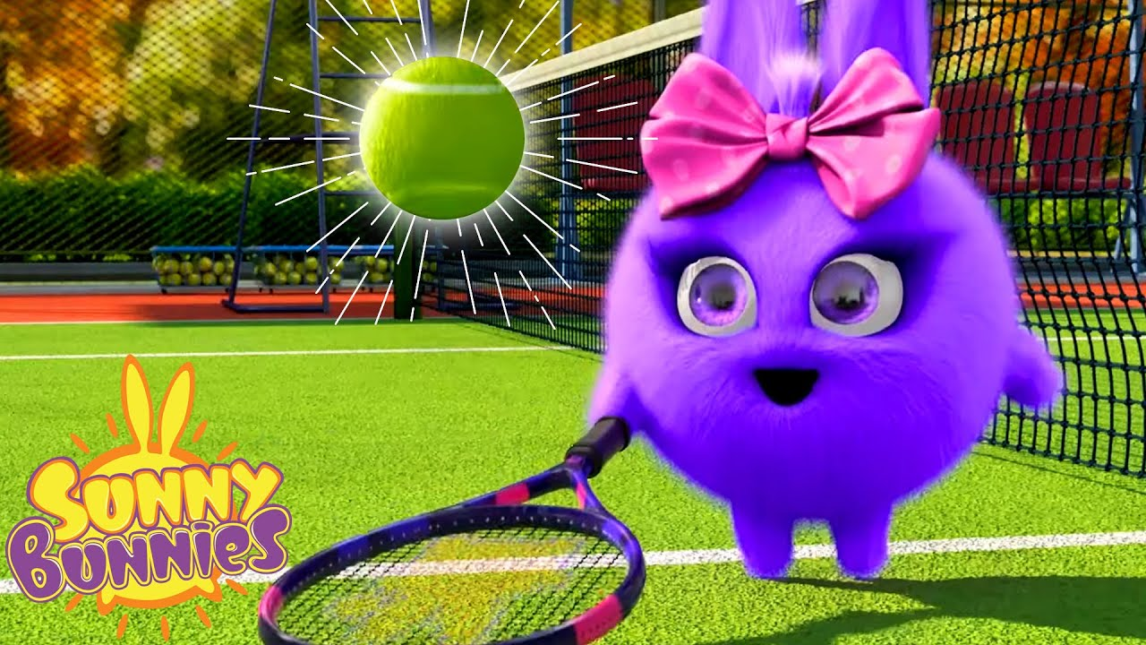 Tennis Chumps - Outdoor Games | Sunny Bunnies | Funny Cartoons for Kids | HooplaKidz Toons