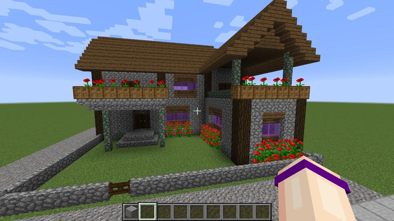 Attractive Easy Cobblestone House
