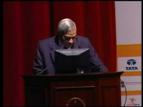 sam pitroda speak at IISc part1