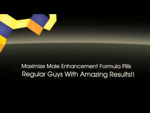 Maximize Male Enhancement Formula   Penis Enlargement Pills