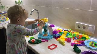 Как сделать тесто для лепки пластилин Play Doh в домашних условиях How To Make Play Doh At Hom