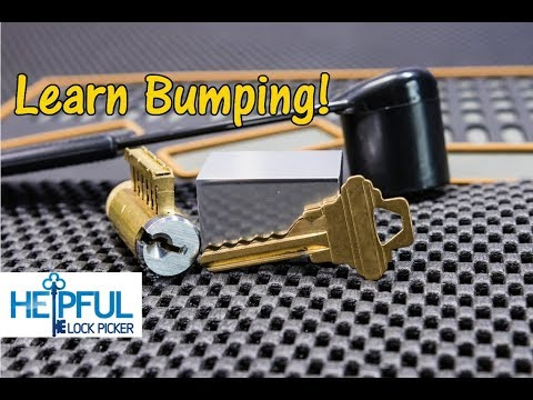 [96] How To Learn To Rapidly Open Locks With A Bump Key! (How Lock Bumping Works)